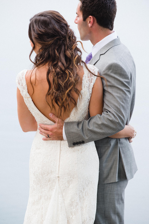 Bride and Groom Backside
