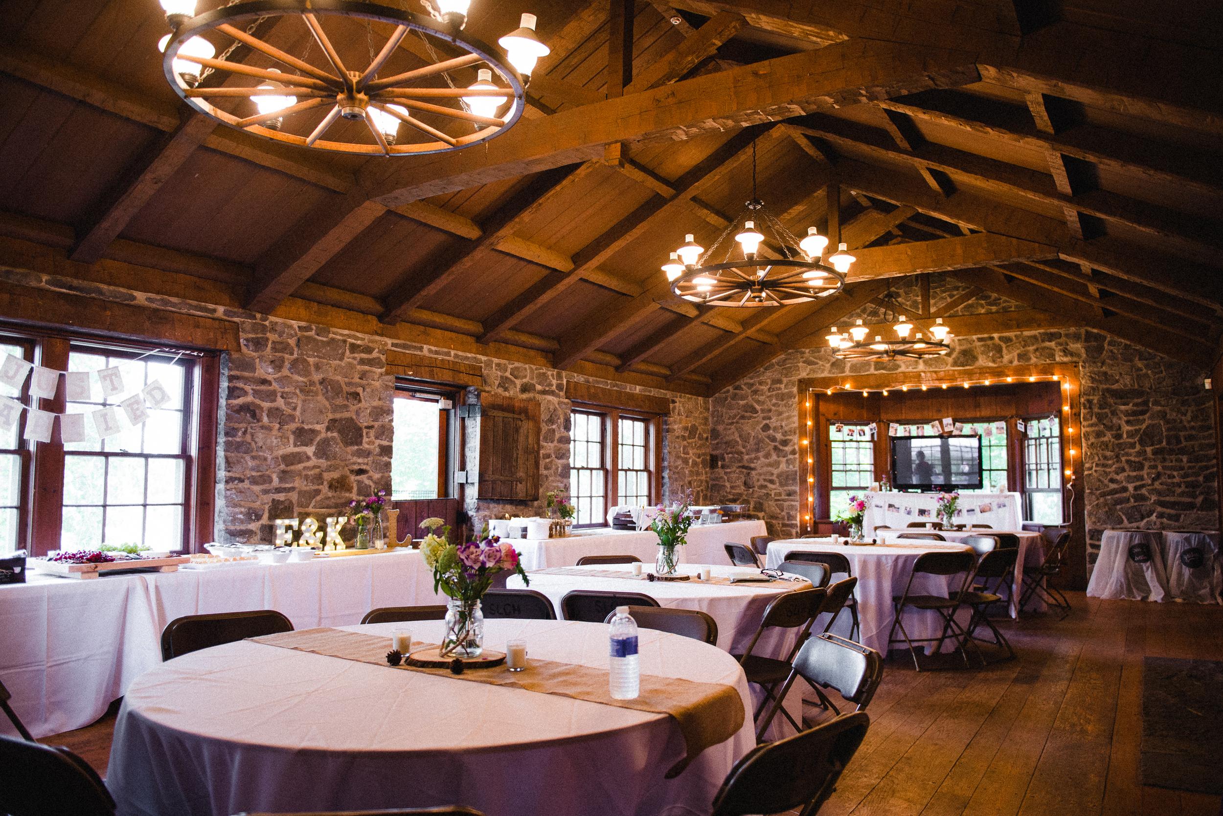 Wedding Reception Spaulding Lake