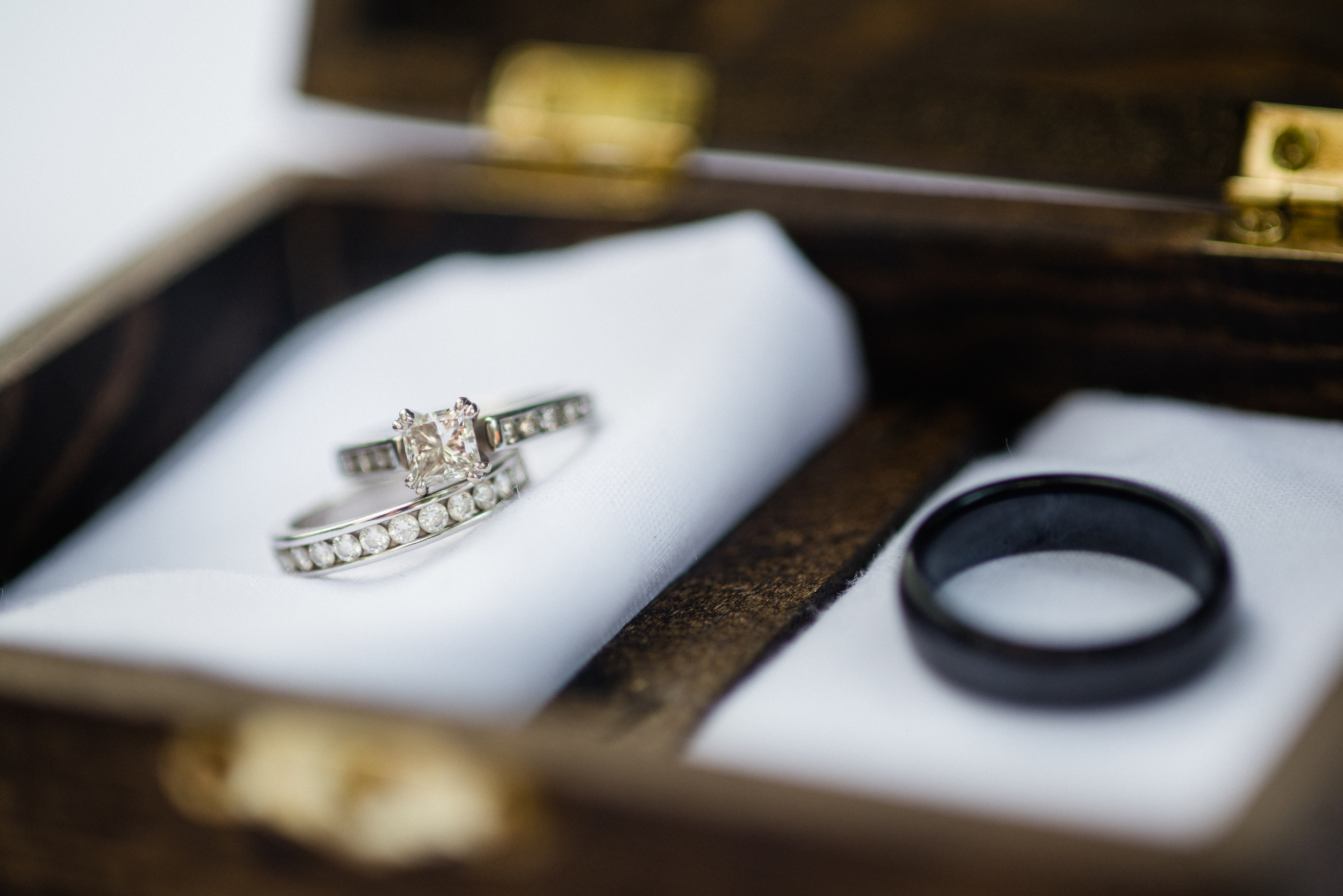 Wedding Rings Wood Box