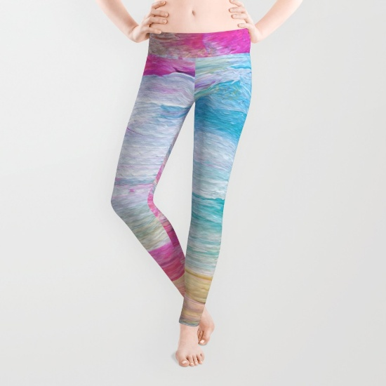 Neon Sunset Leggings