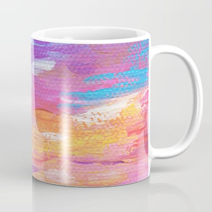 Hawaiian Neon Sunset Mug