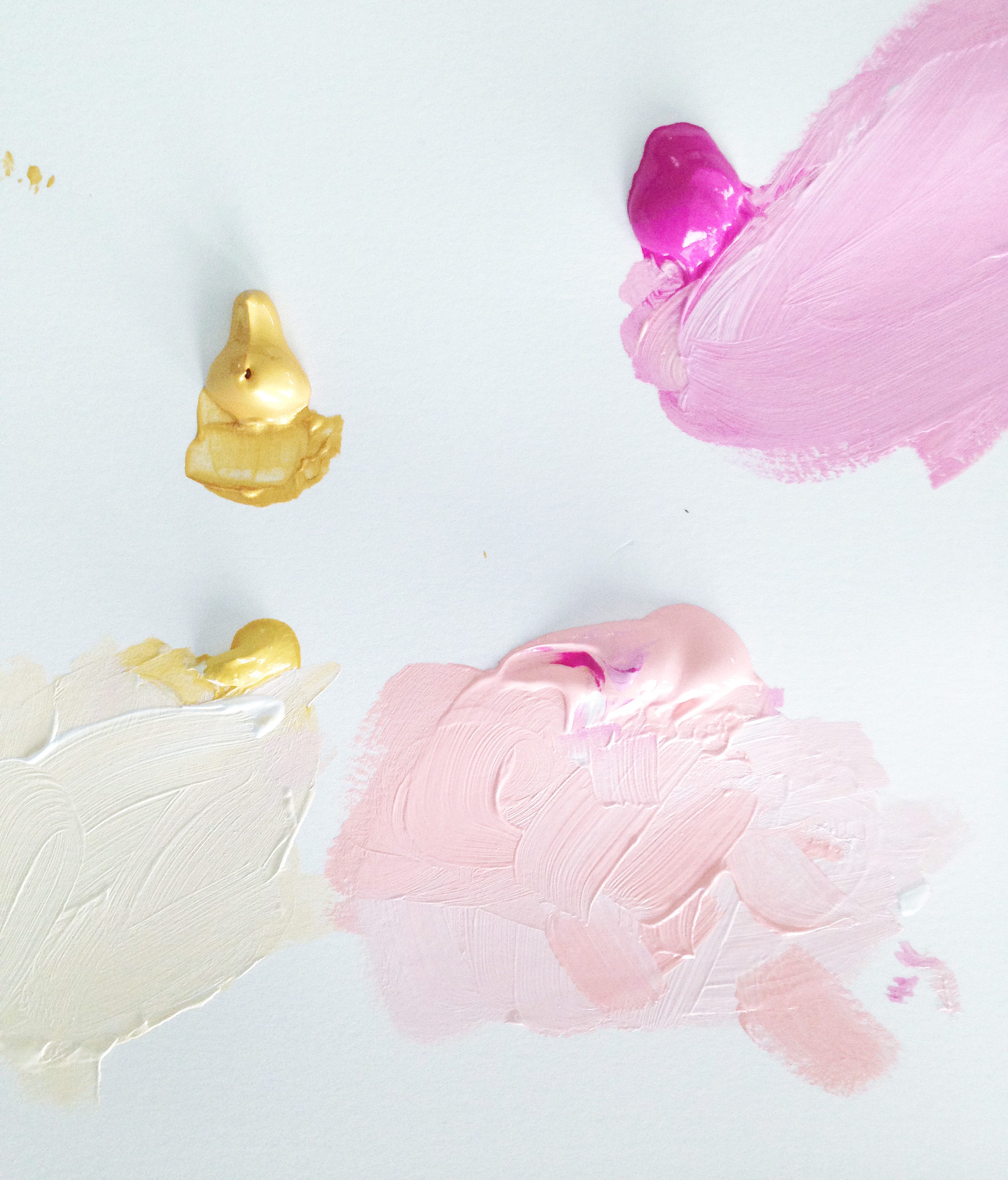 Kristen Laczi Golden Hour Pink & Gold Color Pallet
