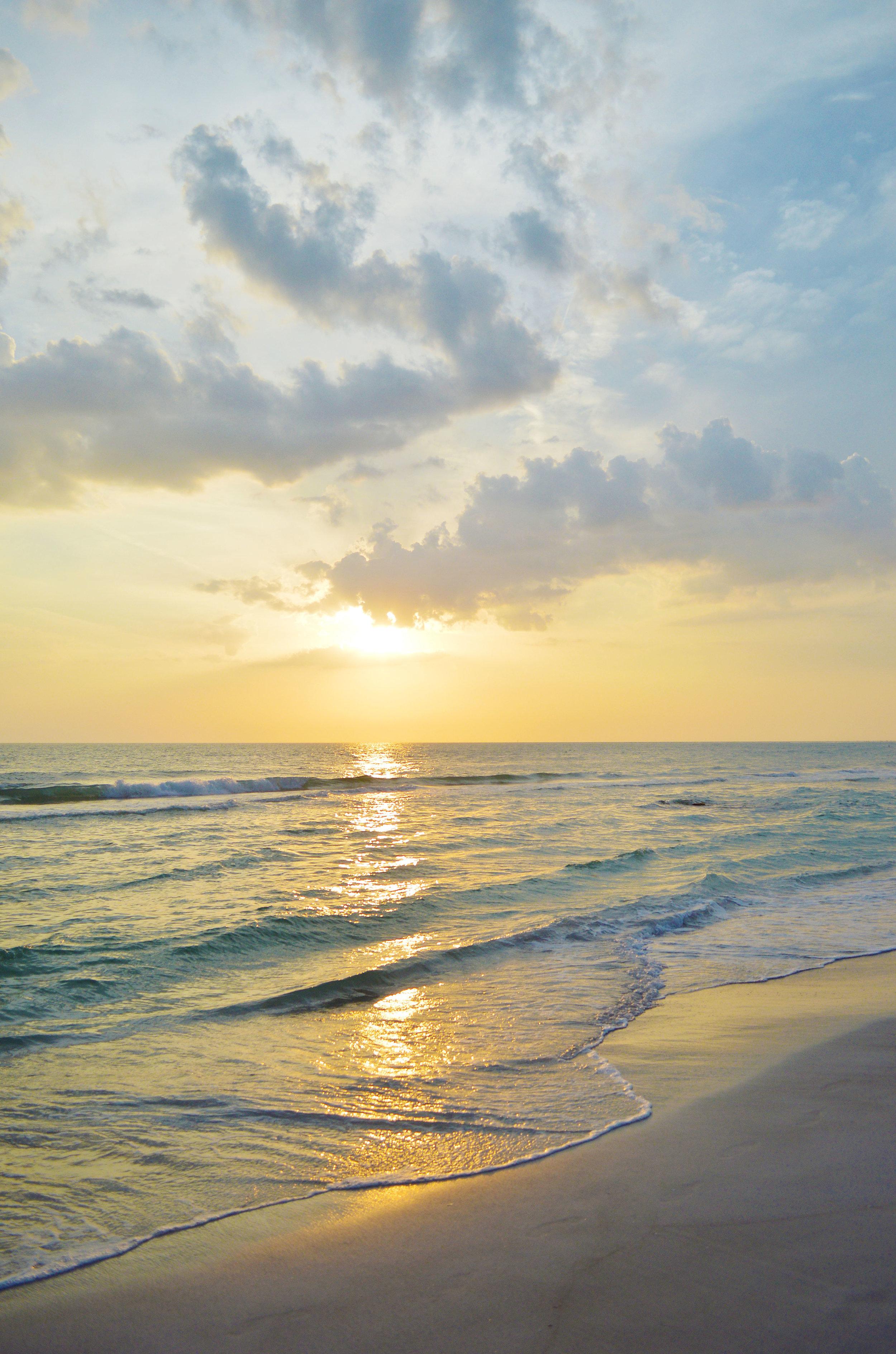 Lido Key Sarasota Florida Beach Sunset Photo by Kristen Laczi