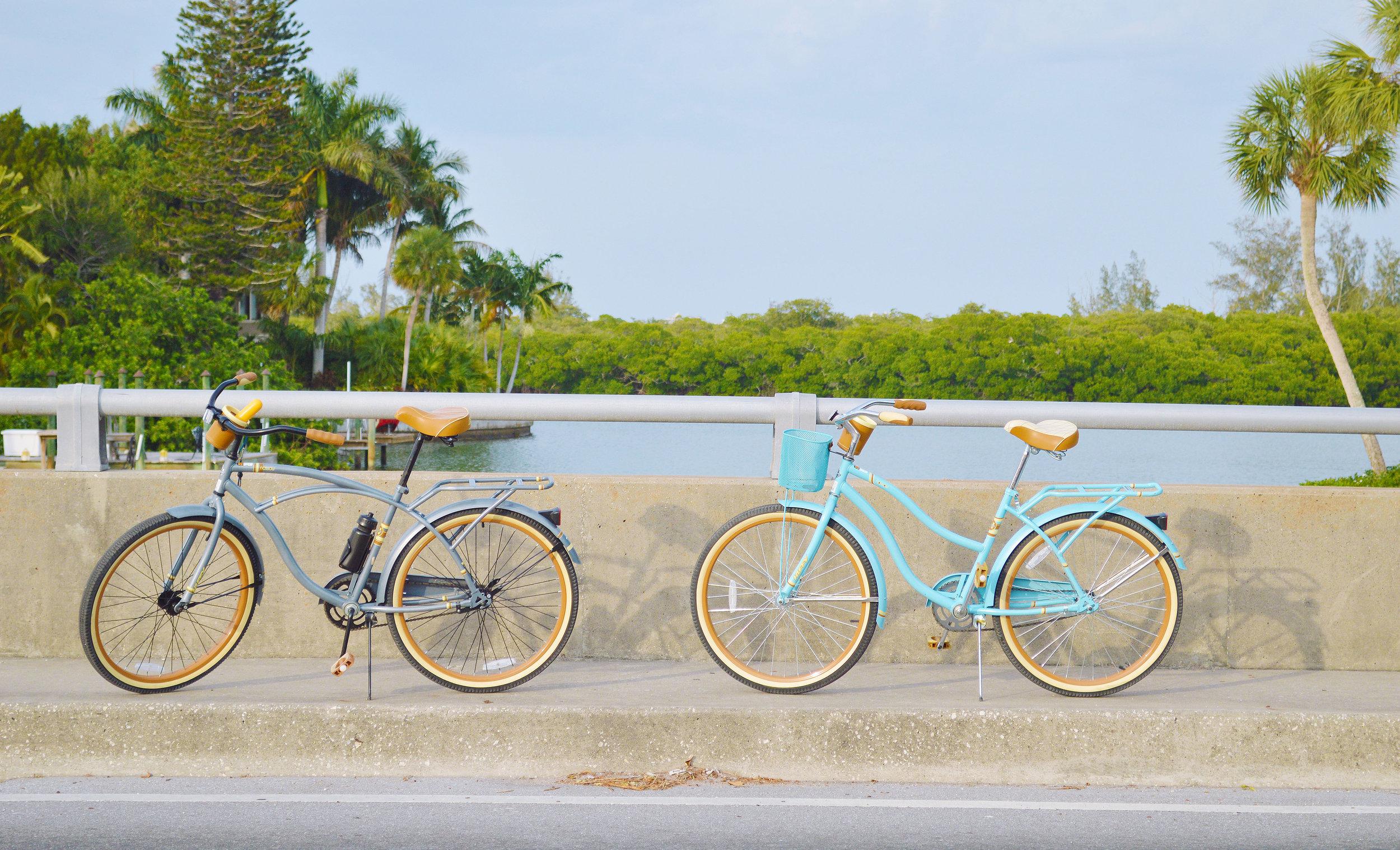 Lido Key Sarasota Florida Bike Riding Kristen Laczi