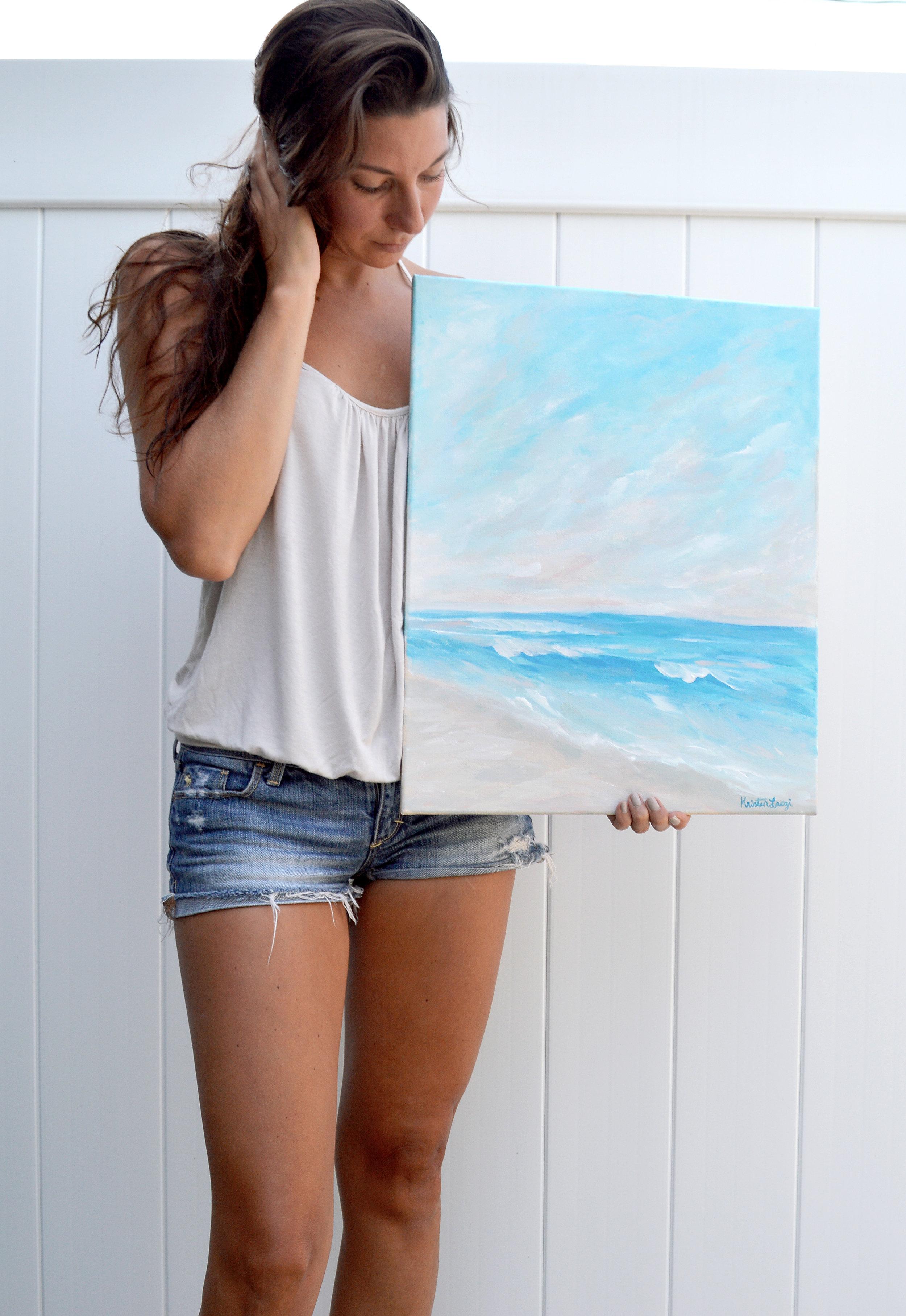 Kristen Love + Light New Painting