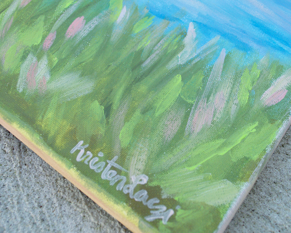 Kristen Laczi Original Painting Indian Summer
