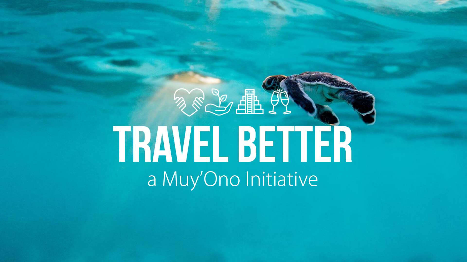 """TRAVEL BETTER   Muy'Ono Resorts believe every traveler should have the opportunity to  travel better . This doesn't just mean better experiences for the traveler, but also making the places traveled to better. That's why Muy'Ono Resorts focus on preserving the beauty of Belize through philanthropy, sustainability, celebrating culture, and creating """"WOW!""""   Learn More"""