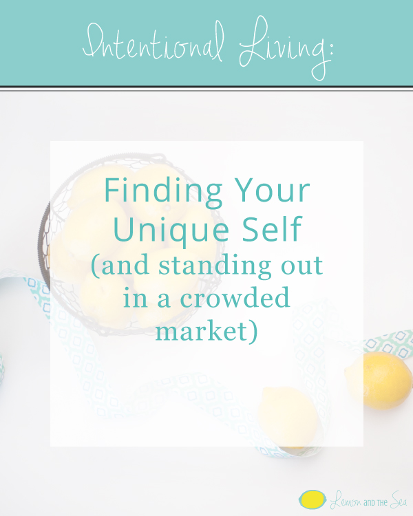 Finding Your Unique Self | Lemon and the Sea: How to find out what makes you unique and use it to stand out and find your dream clients.