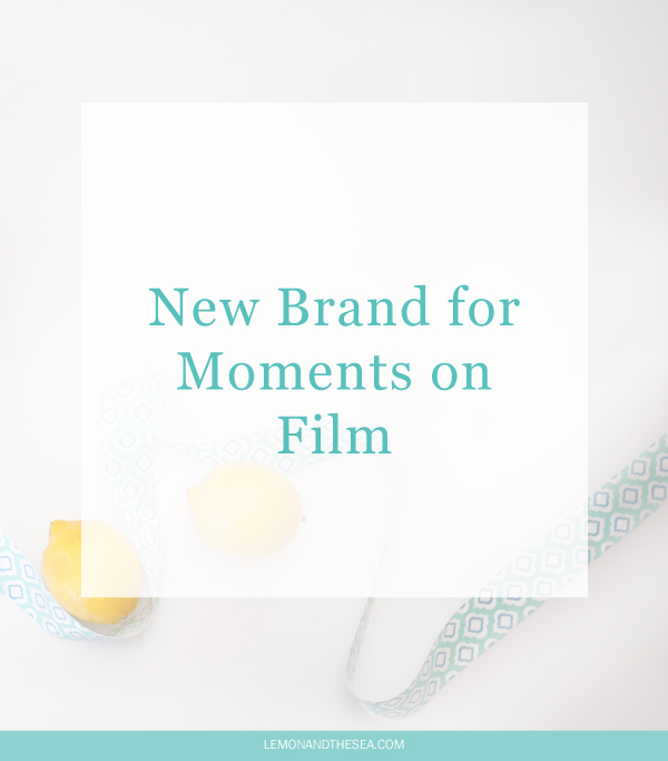 New Brand for Moments on Film from Stephanie de Geus   Lemon and the Sea: Logo design for three companies