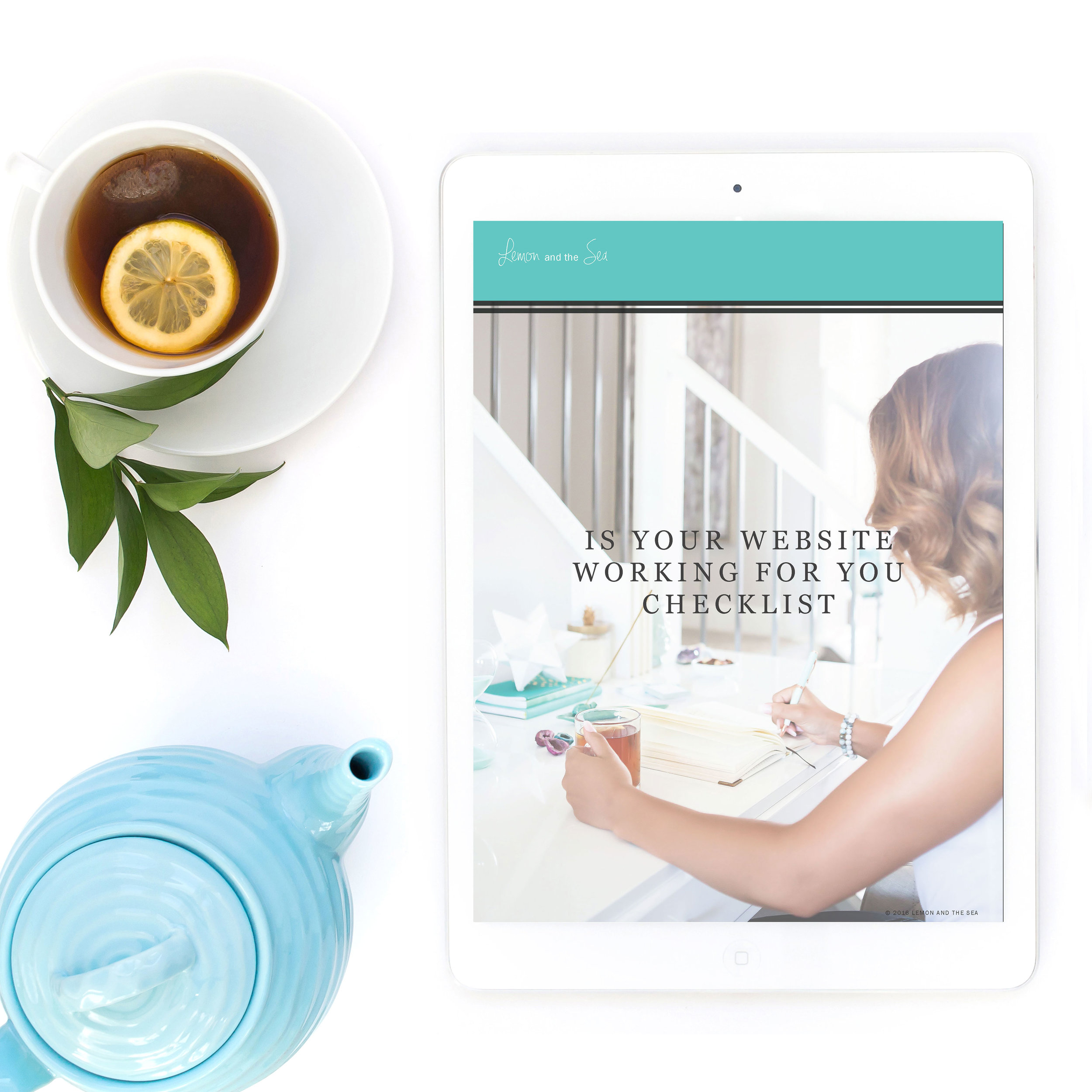 Is Your Website Working for You? free guide from Lemon and the Sea for strategic website design with beauty and brains