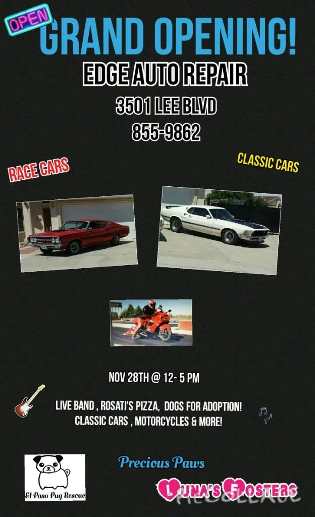Grand Opening of Edge Auto Repair