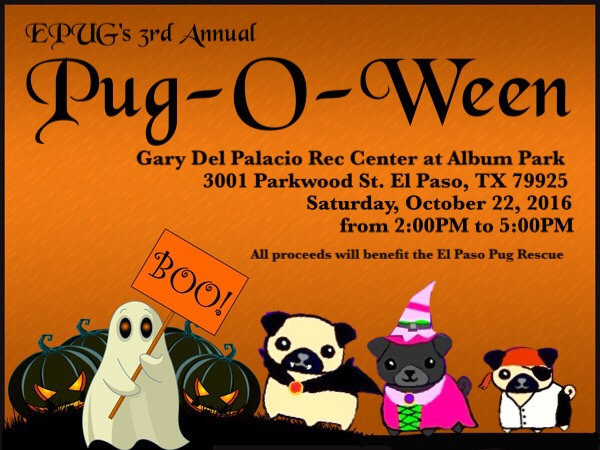Pug-O-Ween 2016