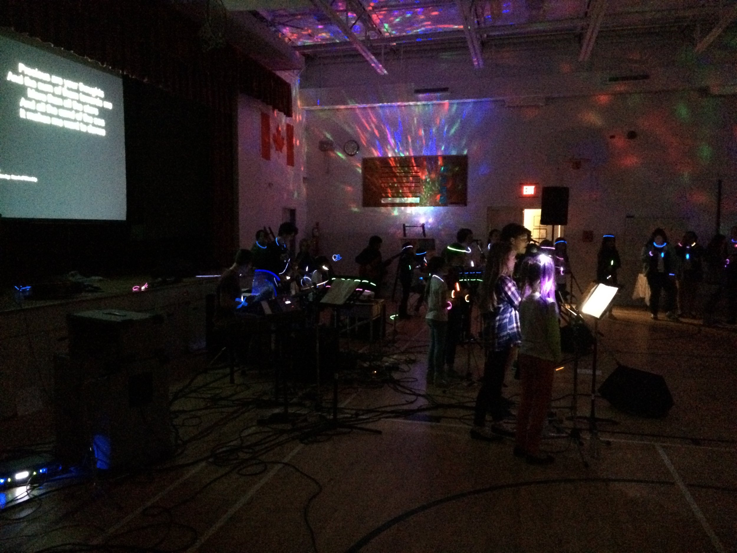 How Music and Arts Glow Night