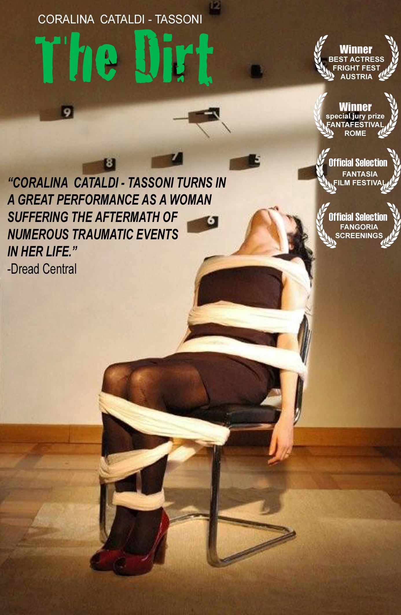 Coralina Cataldi-Tassoni in THE DIRT movie poster