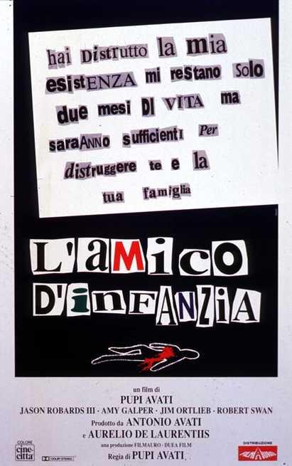 L'AMICO D'INFANZIA movie poster