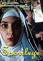 SACRILEGE movie poster
