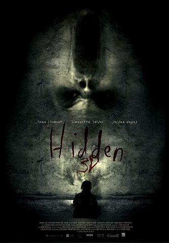 HIDDEN 3 D movie poster