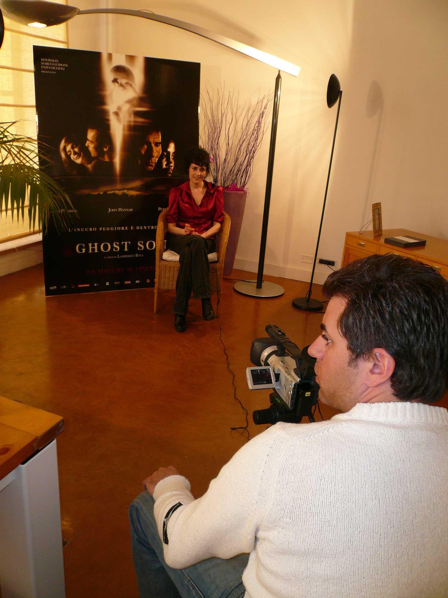 Coralina Cataldi-Tassoni for GHOST SON'S DVD bonus features interview