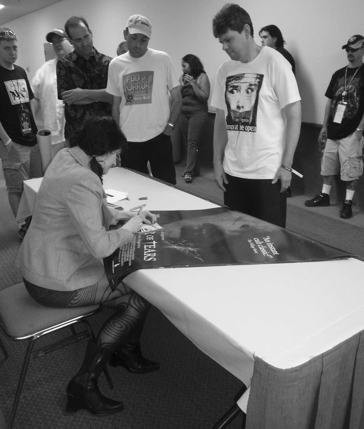 L- Coralina Cataldi-Tassoni signing autographs in Los Angeles.jpg