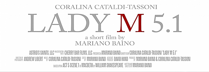 Official poster for LADY M 5.1 at MACRO - Museum of Contemporary Art of Rome -