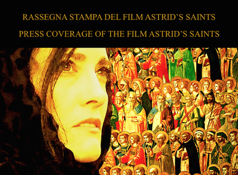 ASTRID'S SAINTS - Starring Coralina Cataldi-Tassoni, directed by Mariano Baino (DARK WATERS),produced by BRONX FILM (GOMORRAH, the series, PER AMOR VOSTRO)in collaboration with ESKIMO FILMS (PER AMOR VOSTRO, NEVE).STATUS: PRE-PRODUCTION.