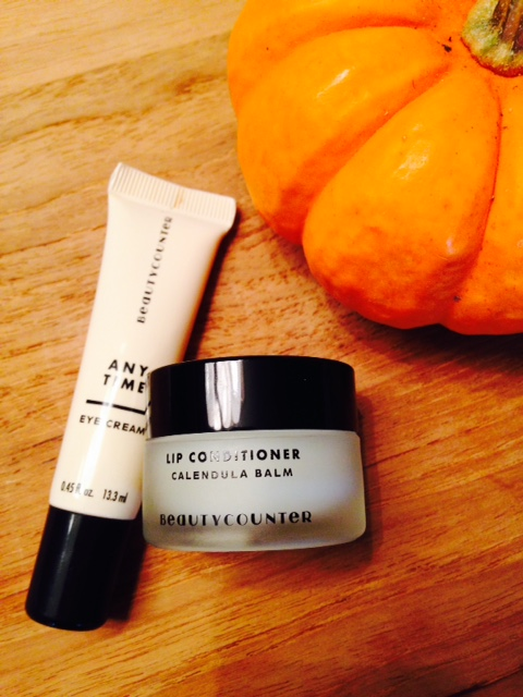 Anytime Eye Cream and Calendula Lip Conditioner