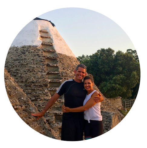 """Puglia Yoga Retreat - """"Christian and Chloe are the best! We had a fantastic time at their retreat in Italy. They are great teachers, fabulous hosts and kept everything running so smoothly while being flexible at the same time. 5 stars all the way."""" - Jen and Mat, California"""