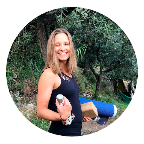 """Puglia Yoga Retreat - """"I've attended a lot of yoga classes with different teachers because I find difficult to achieve balance in your practice when the teacher makes you feel uncomfortable or sometimes even stress you out. Chloe and Christian are simply the best yoga teachers I had the chance to practice with. I enjoyed every moment of the time spent with them during two yoga retreats in Italy and would love to participate to another one this summer!"""""""