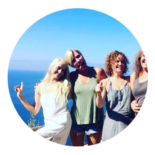 """Positano Yoga Retreat - """"I had the great pleasure of spending a week with Chloe and Christian in Positano. The yoga, food and location were all spectacular! I will definitely find them and share more yoga and adventure in another beautiful place soon!"""" - Christy, Canada"""