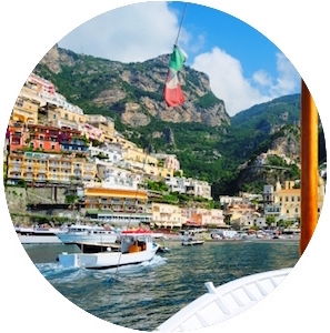 """Positano Yoga Retreat - """"I'm just back from an amazing week in Positano ! I loved every minute of it ! Not only was the venue fantastic but Chloe and Christian are the best- warm , caring people are super teachers they put us all instantly at ease. I had a fantastic time & can't wait to join another Yoga Healing Nature retreat in the not too distant future!"""" - Lavinia, Ireland"""