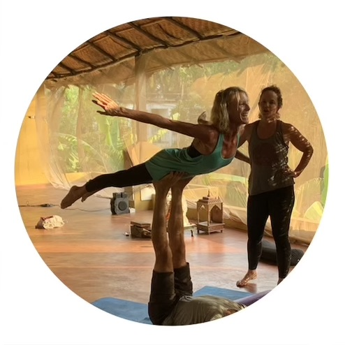 """India Yoga Retreat - """"Chloe & Christian are beautiful beings who make everyone around them feel at ease and comfortable. They bring great energy & are a pleasure to work with!"""" - Stacey, India"""