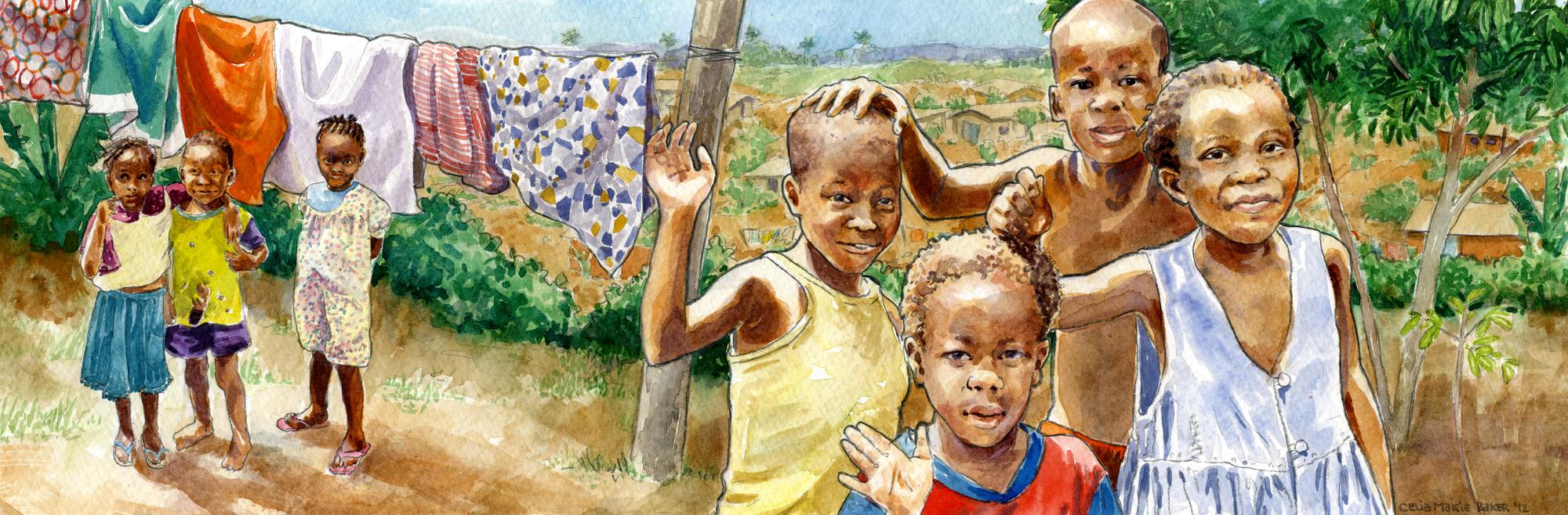 Children's Rescue Home & Haven Of Rescue   Liberia    Learn More