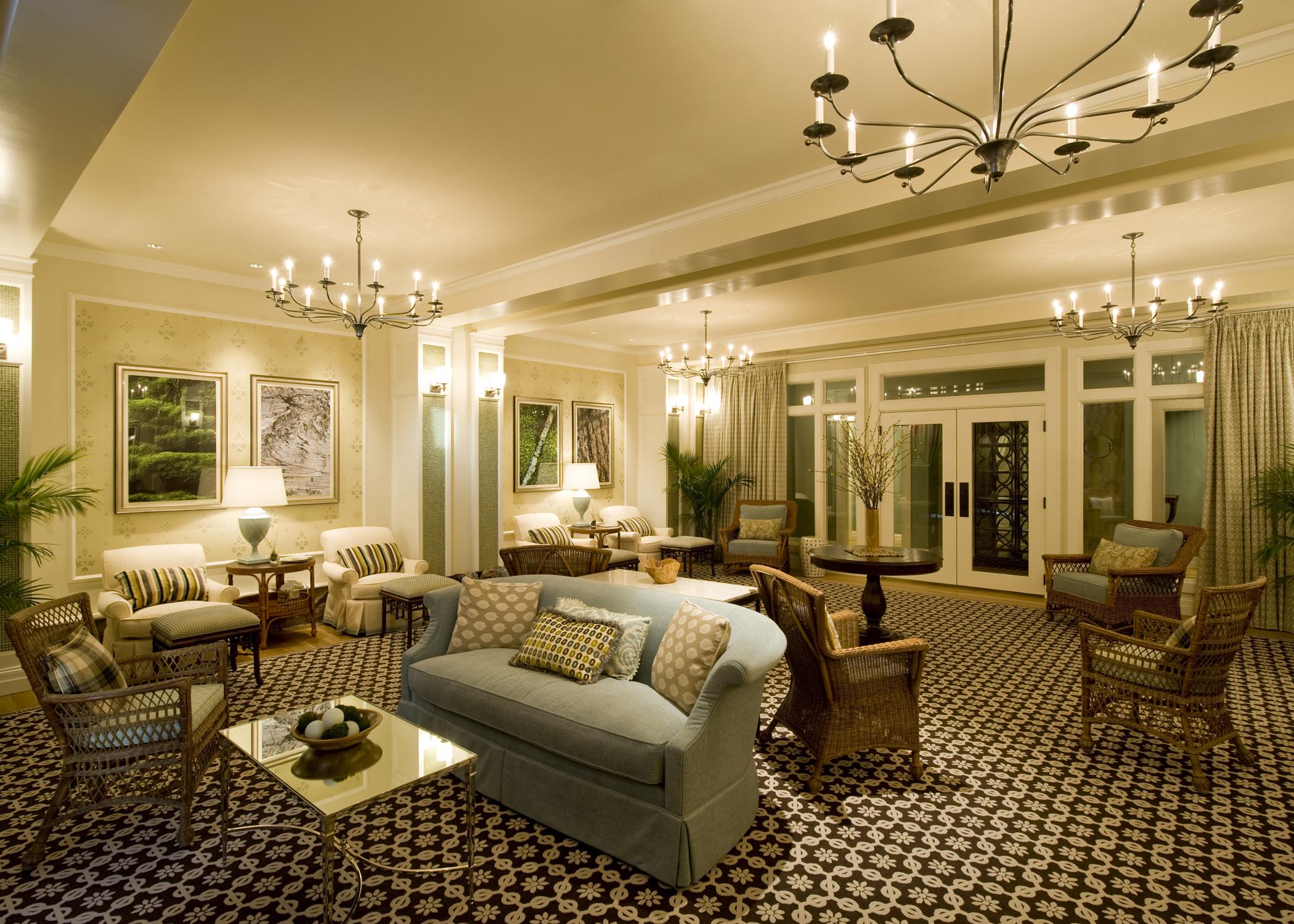Spa Lounge at the Mt. Washington Hotel