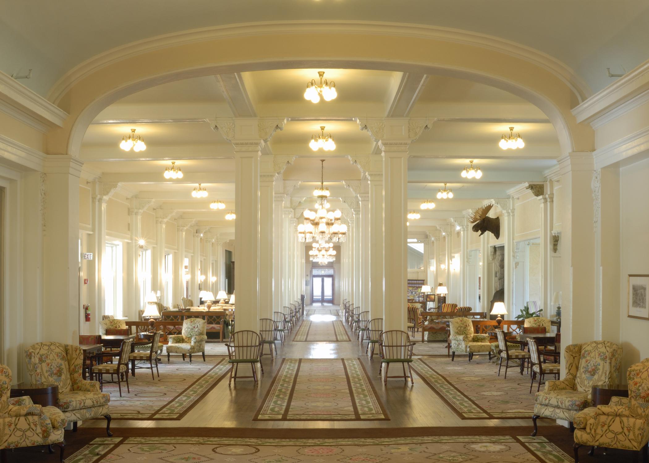 Great Hall at the Mt. Washington Hotel