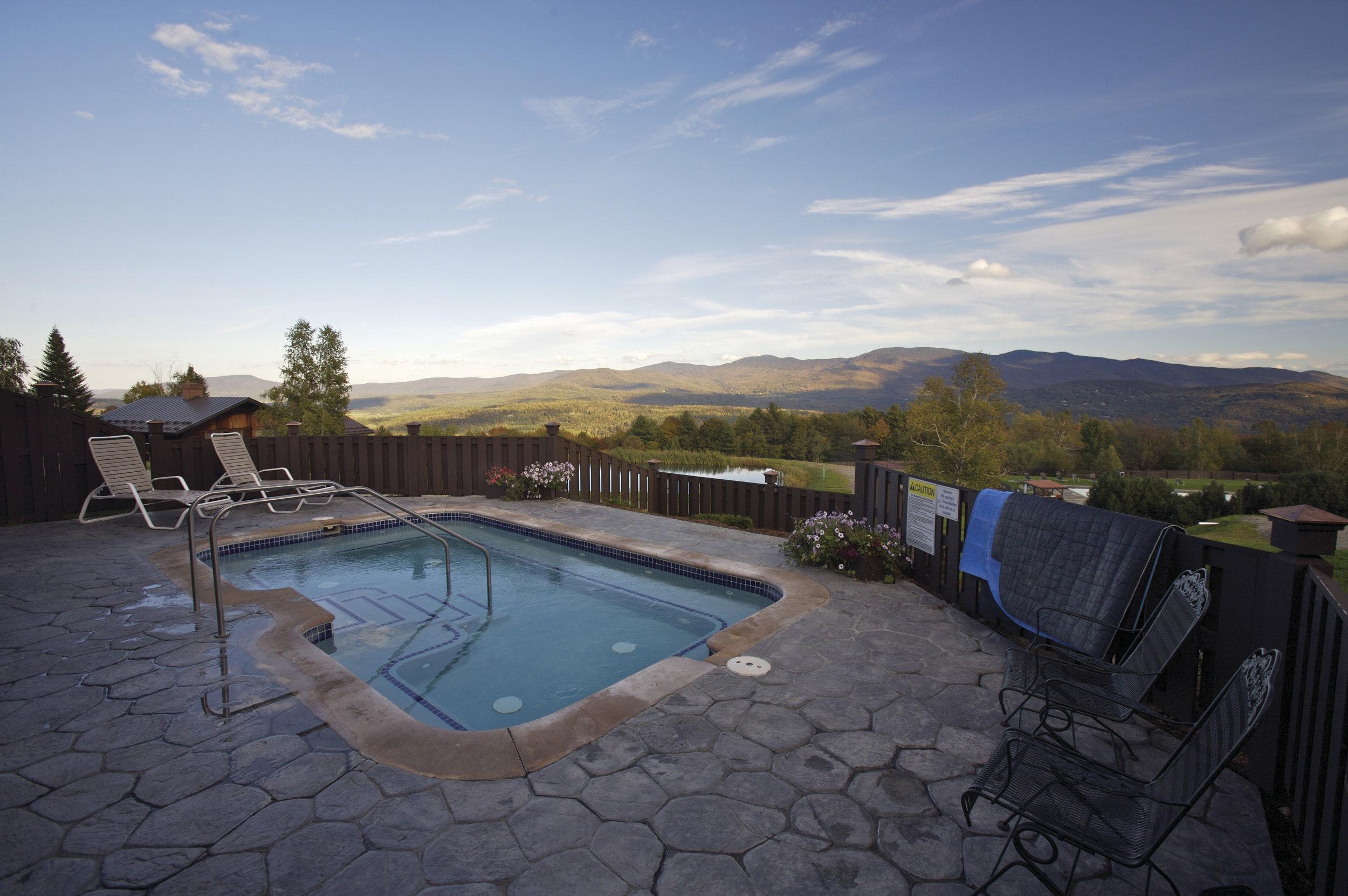 Hot Tub at Von Trapp Family Lodge