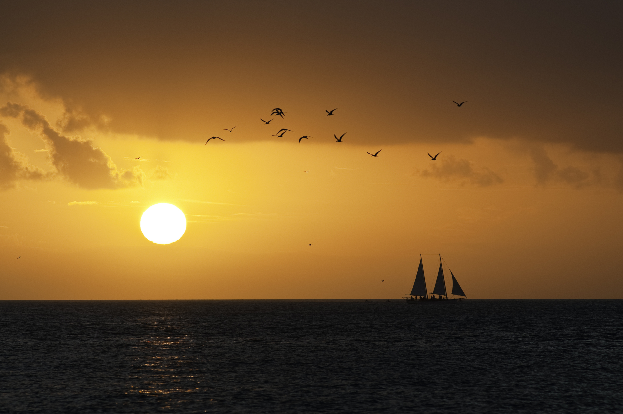 See Key West's Sunset at the Mallory Square Sunset Celebration