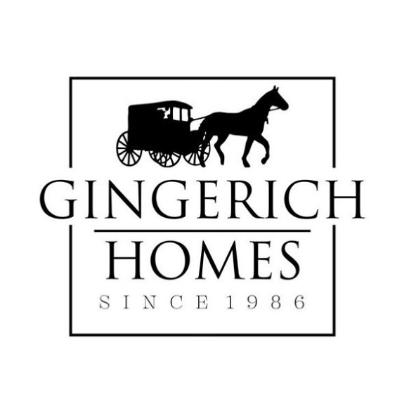 Unveiling our new logo this week! My dad, Nate Gingerich, started this company in 1986. His dad (also a home builder) grew up Amish so the new logo reflects our unique family heritage!