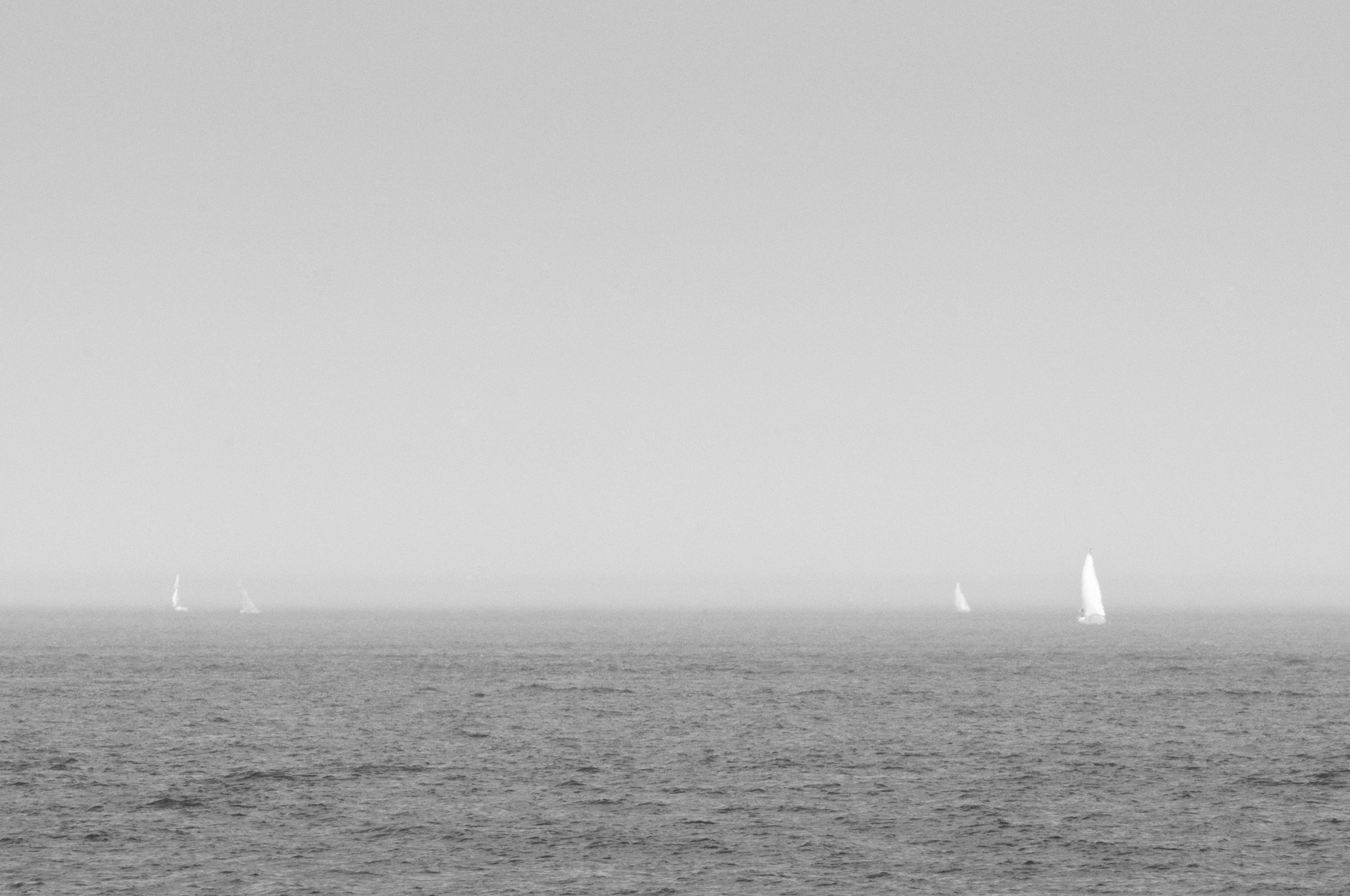 "Photograph taken by Ian Smith - Photo ""Mellow Sailing"" was taken overlooking the Mediterranean Sea, off the coast of Santa Margherita, Italy in 2015"