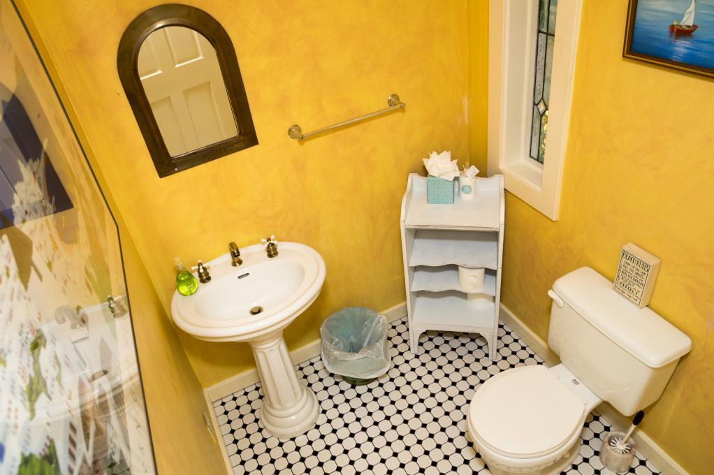 Half Bathroom- Main Level