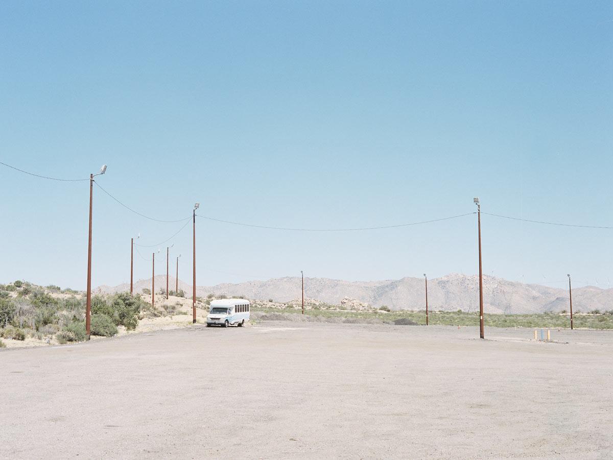 Parking lot, California, 2015