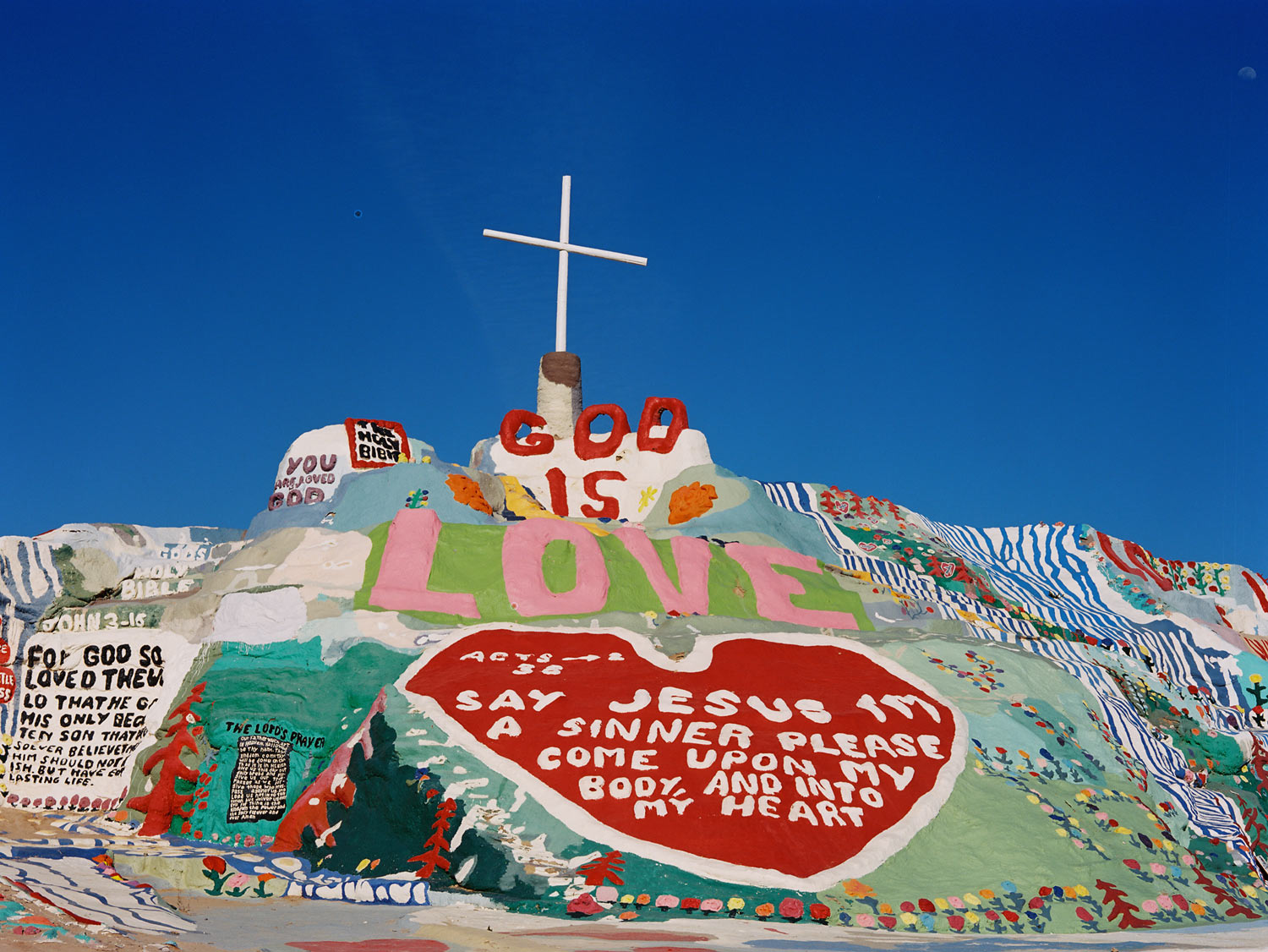 Salvation Mountain Niland, CA, 2015