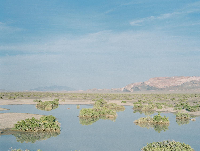 Desert lake Nevada, 2015