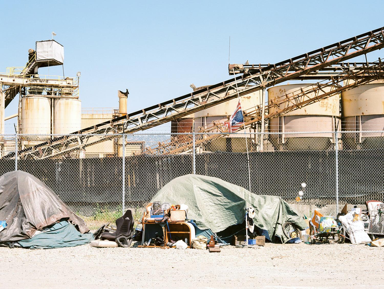Homeless patriots Berkeley, CA, 2015