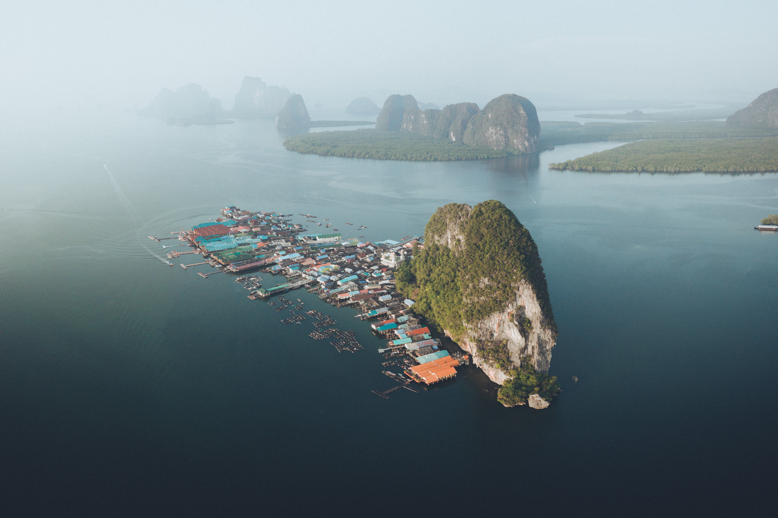 Koh Panyee from above