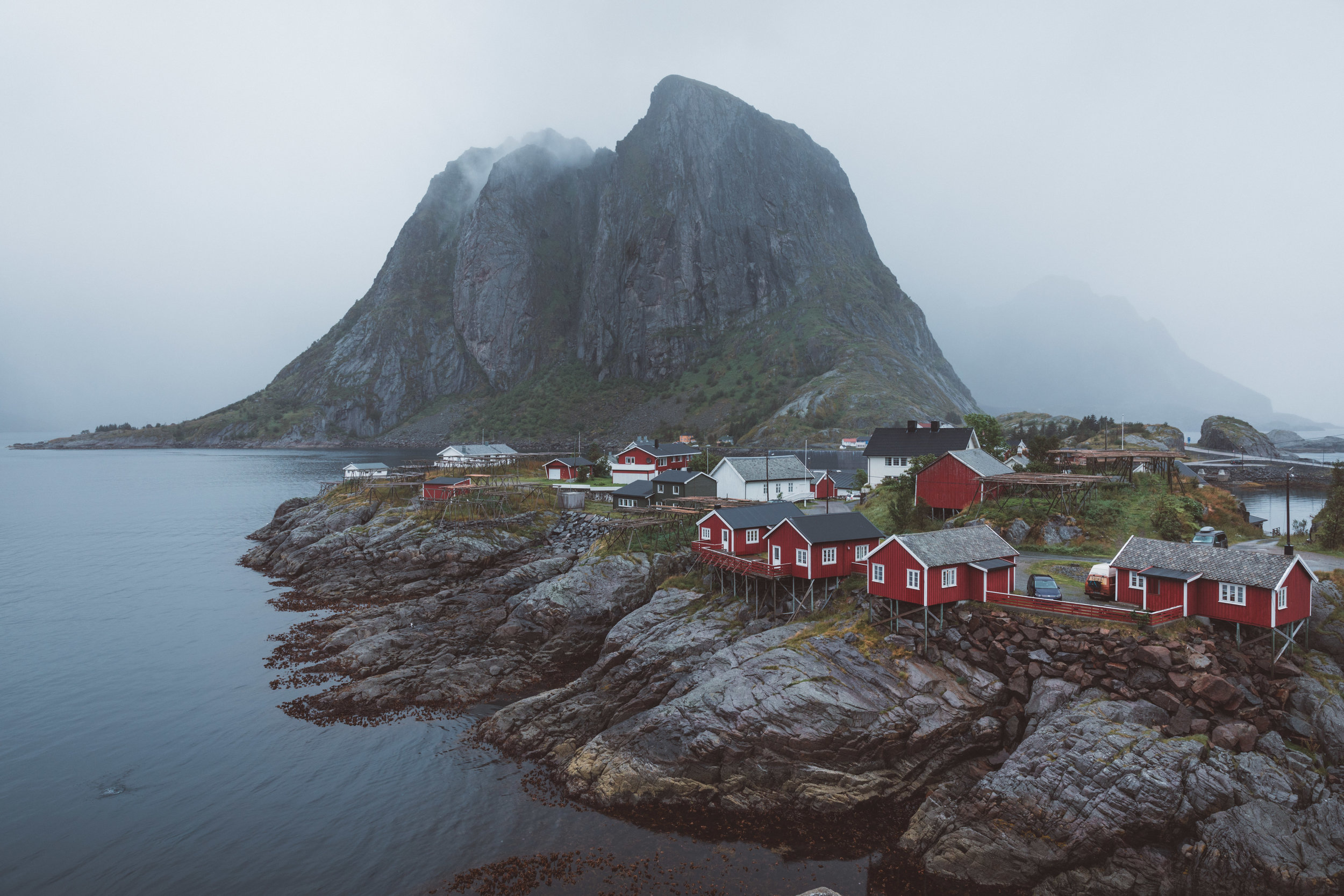 the famous fishing village of Hamnoy