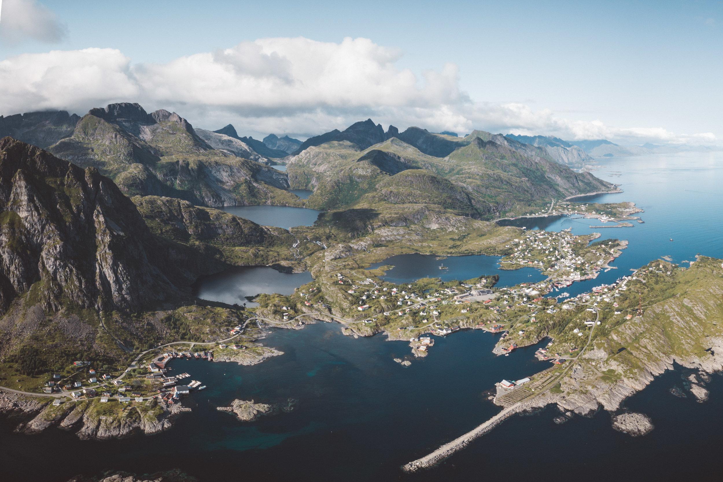 Lofoten Coastline