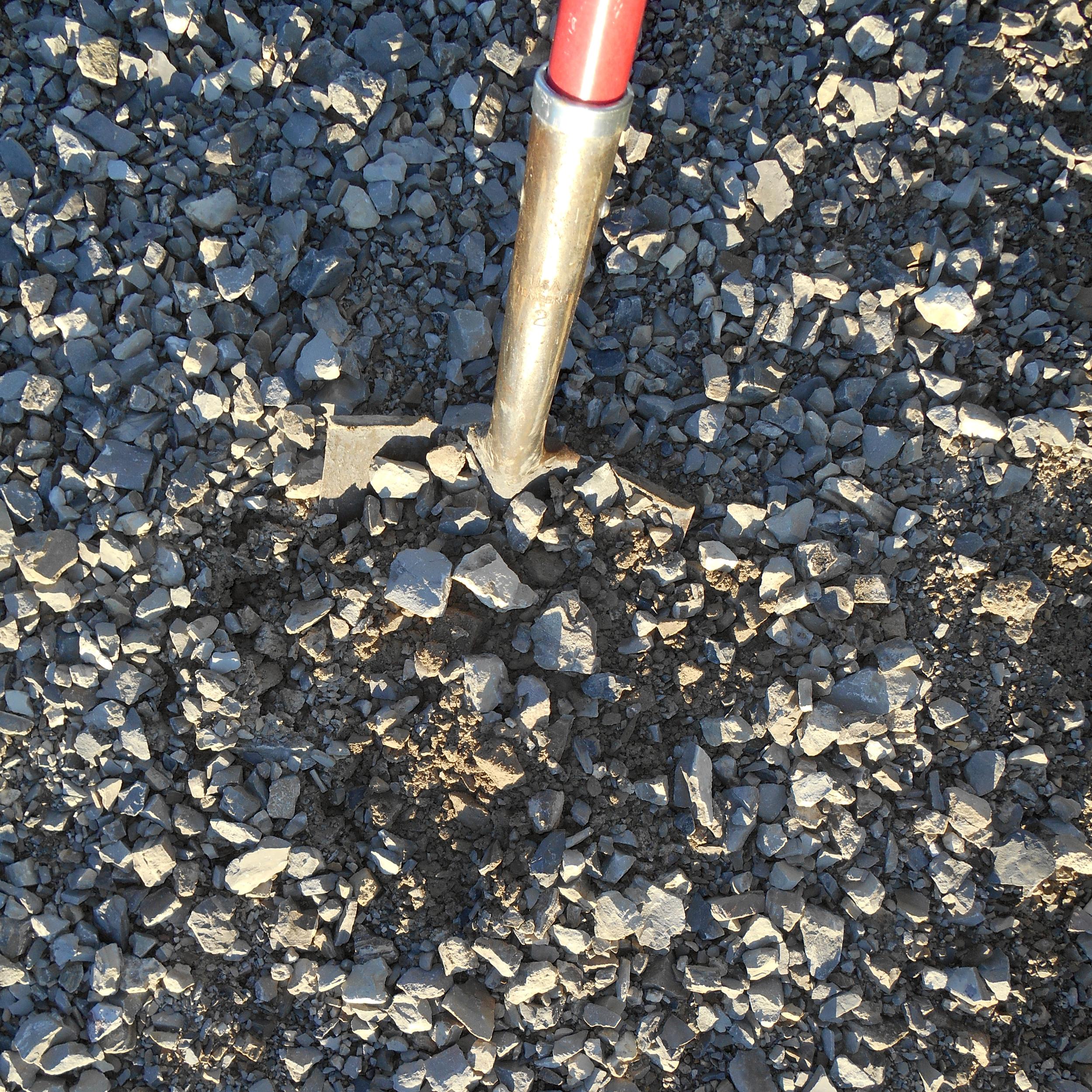 "#304L - Limestone Grey, 1 1/2"" Dust (Driveway Base)"
