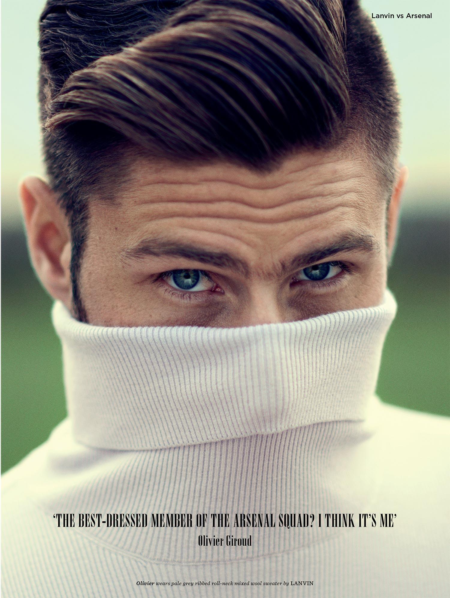 GQ Style - Lanvin V Arsenal