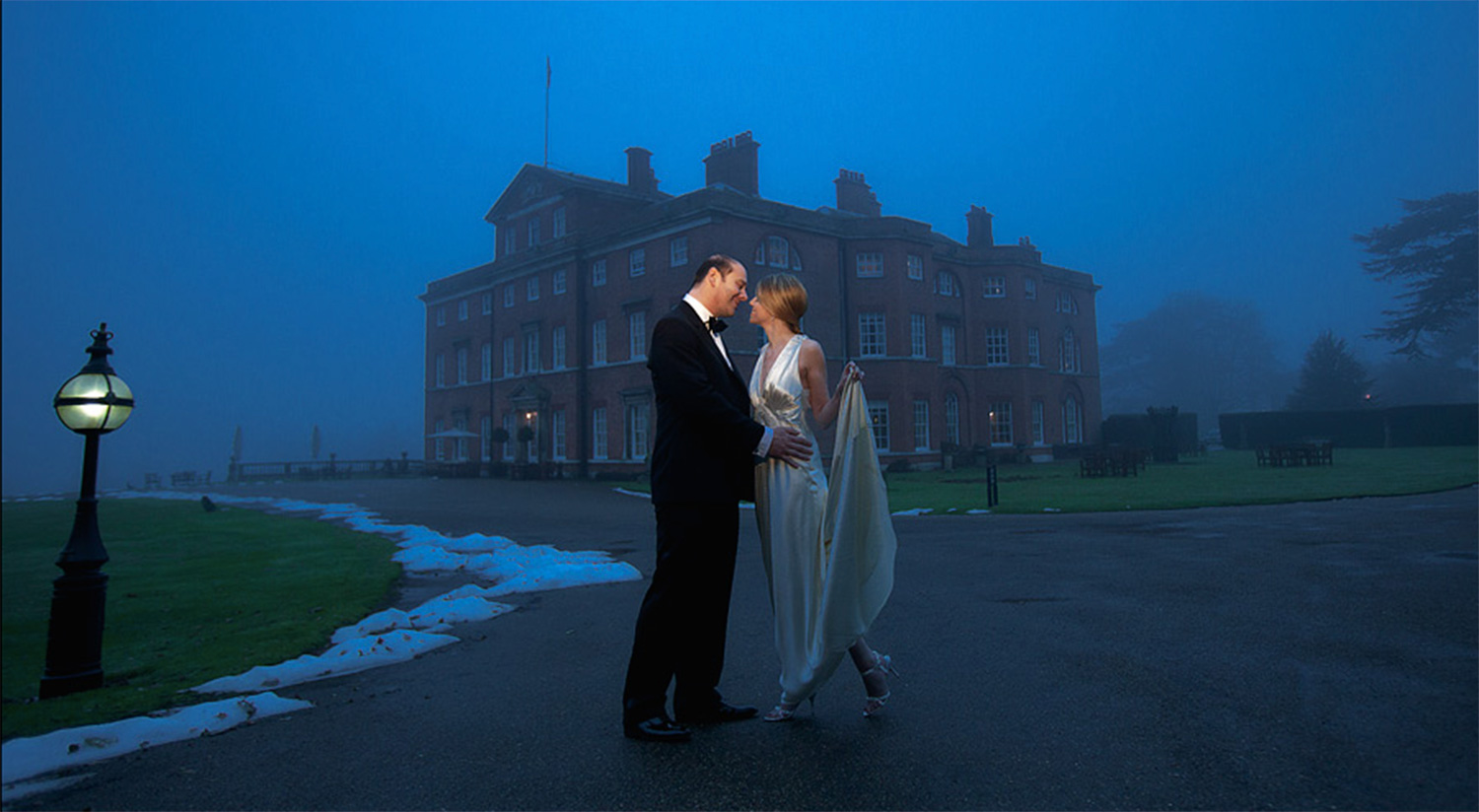 Winter Wedding - Brocket Hall, Hertfordshire