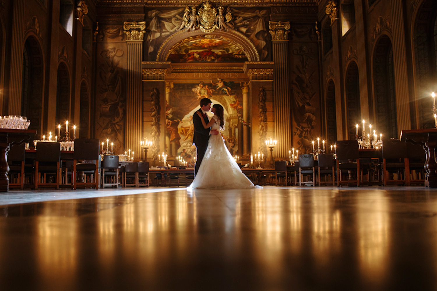 Painted Hall, Old Royal Naval College, Greenwich Wedding